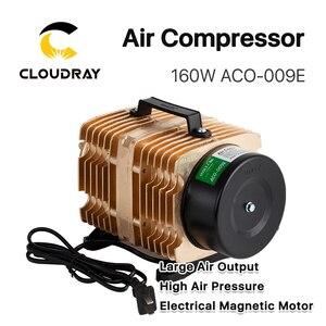 Image 4 - Cloudray 160W אוויר מדחס חשמלי מגנטי אוויר משאבת עבור CO2 לייזר חריטת מכונת חיתוך ACO 009E