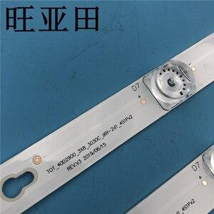 Image 2 - New Kit 3 PCS 8LED 69cm LED backlight strip for L40F3301B L40P F 4C LB4008 HR01J 40D2900 40HR330M08A6 V8 L40E5800A L40F3301B