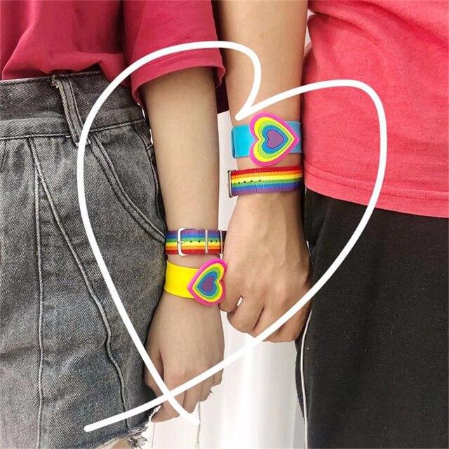 Rainbow Bracelet & Necklace 4