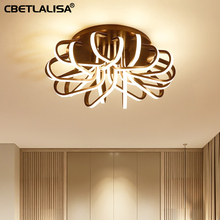 New led Chandelier for living room bedroom, coffee color ceiling chandelier fast shipping, 3 year warranty, elegant lighting цена