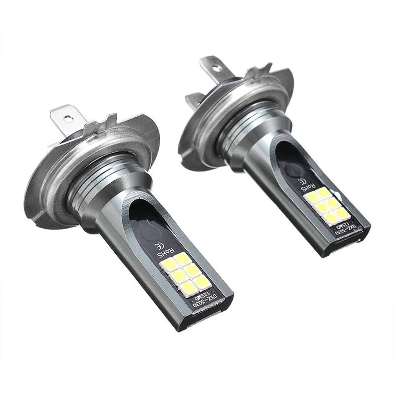 2PCS Waterproof H7 110W Car Headlight Head Lamp 24000LM Fog Lights Conversion Kit  Super Bright LED Bulb 6000K