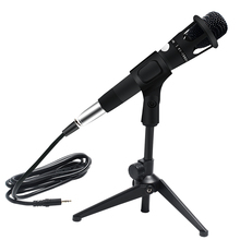 E300 Wired Microphone Metal Professional Condenser Microphone Handheld Microfono Podcast Studio Microphone 3.5Mm For Recording