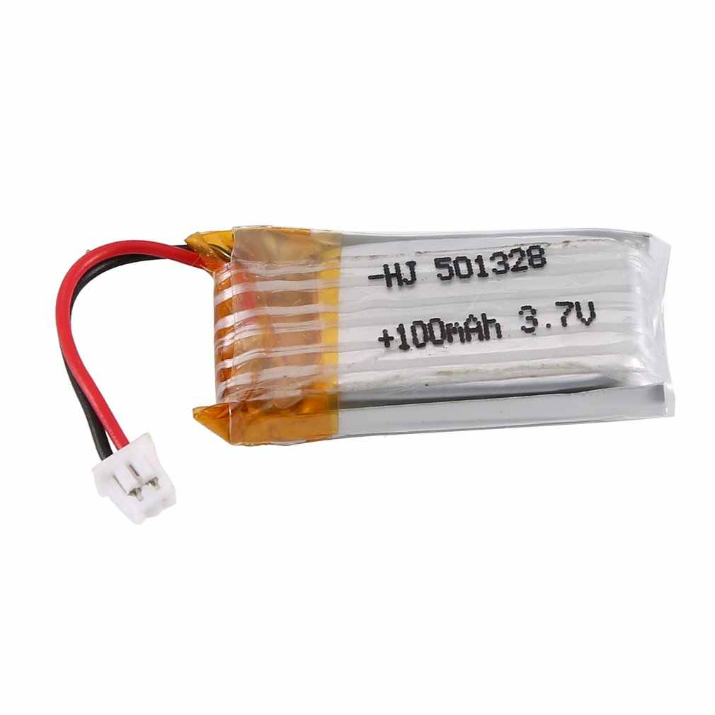 3.7V 100mAh Batterie Rechargeable Batterie Lipo RC Batterie Au Lithium Batterie li-on pour Mini 1/28 Moustique Voiture RC Voiture Ensemble