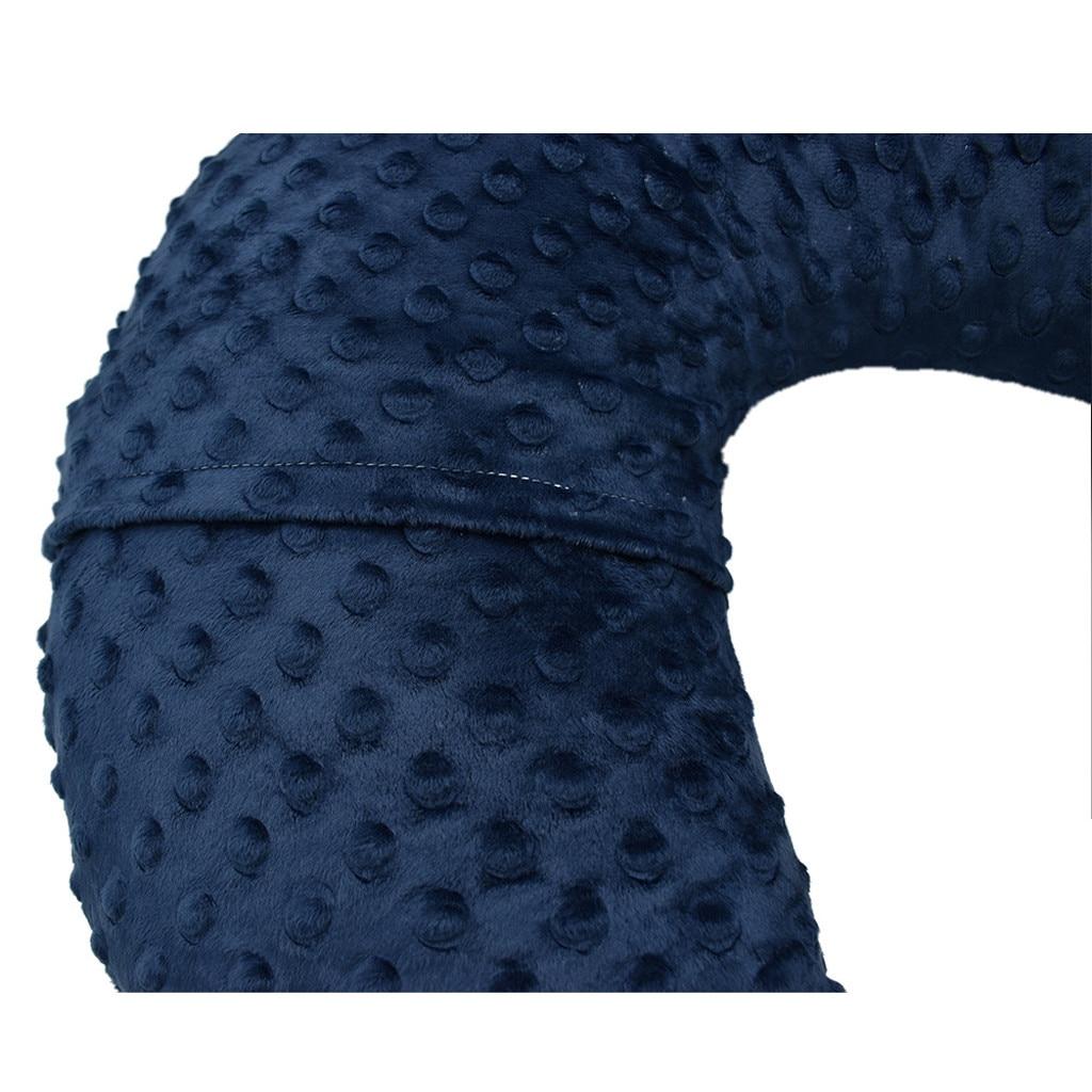 Funda Cojin Lactancia Materna подушка для грудного вскармливания для новорожденных наволочка Lactancia u-образная Подушка для кормления грудью Крышка для кормления грудью Borstvoeding Kussen из микрофибрового плюша наволочка для кормления