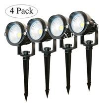 Lighting Lawn-Lamp Garden-Path Waterproof LED 3W 12V COB 220V 5W Ac 4-Pack 110V
