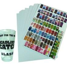 Transparent Paper Decals Printable Premium Clear A4--10-Sheets
