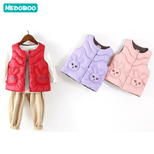 Medoboo Baby Winter Clothes Girl Boy Vest for Children Thick Warm Jacket Coat Tops Outerwear Waistcoat Clothing
