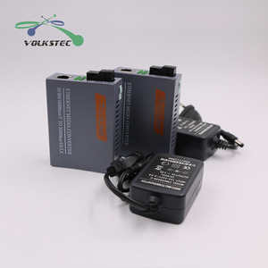 Image 5 - 1ペアHTB GS 03 a/bシングルモードギガビット繊維光メディアコンバータ1000 150mbps scポート20キロ外部電源