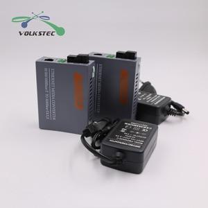 Image 5 - 1 Pair HTB GS 03 A/B Single Mode Gigabit Fiber Optical Media Converter 1000Mbps SC Port 20KM External Power Supply