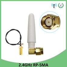 2pcs 2.4GHz WiFi Antenna 2dBi Aerial RP-SMA Male Connector 2.4 ghz antena wi-fi +21cm PCI U.FL IPX to SMA Male Pigtail Cable 20pcs 2 4ghz wifi antenna 2dbi aerial rp sma male connector 2 4 ghz antena wi fi 21cm pci u fl ipx to sma male pigtail cable