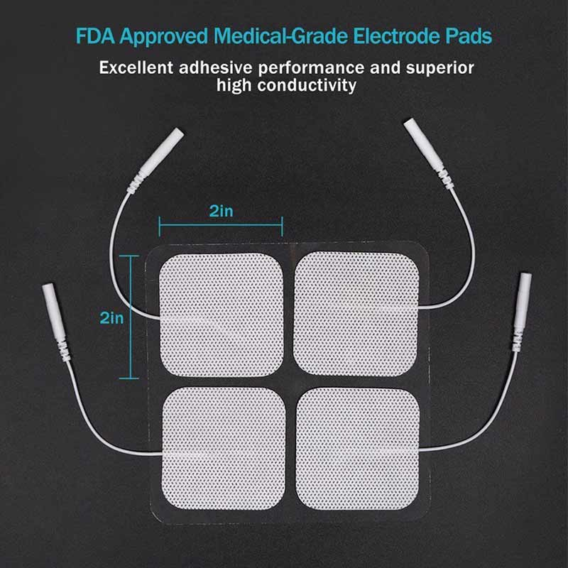 Electric Pulse Back and Neck Massager Electrode Pads Acupuncture Digital Therapy Machine  Massager Patch