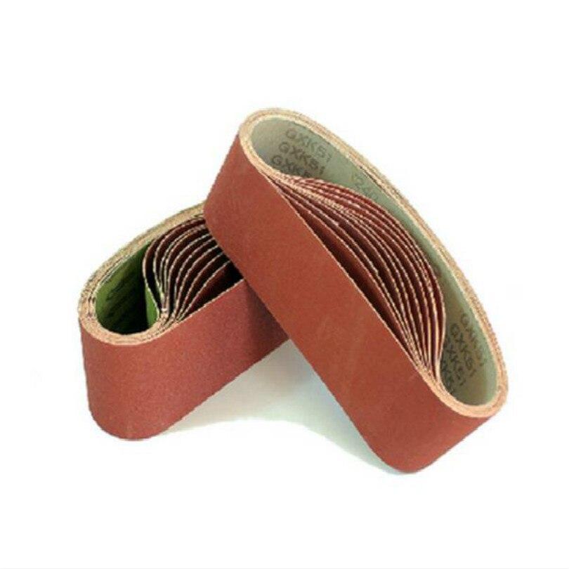 4inch 610*100mm Sandpaper Belt Sand Paper Belt Sanding Pad Sandpaper For Grinder Wheel Belts 60-600mesh 20pcs/lot Free Shipping