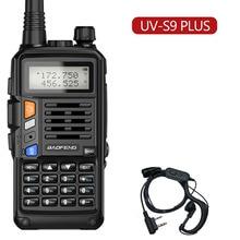 2021 UV-S9 Plus 10W Portable Military Dual-Segment Walkie-Talkie 50KM Long-Distance Professional Radio Transceiver Two-Way Radio