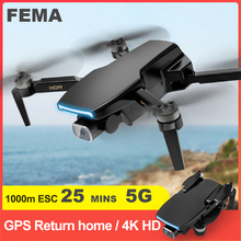 Gps-Drone Camera Rc Quadcopter Rc-Distance Professional Fema S3 Brushless Fpv with 4k