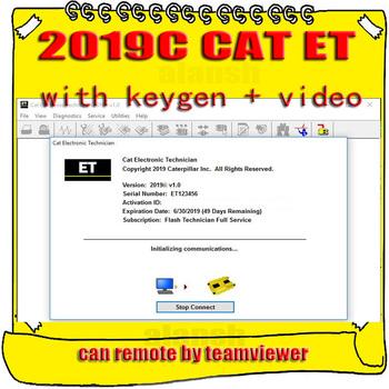 Dla Caterpillar 2019C Cat ET ET3 elektroniczny technik oprogramowanie diagnostyczne koparki z odblokowaniem KeyGen Active + wideo tanie i dobre opinie alansh none 0inch Other 0 1a windows 7 8 10 multi language