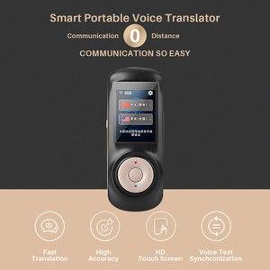 Image 3 - 번역기 음성 인스턴트 휴대용 언어 번역기 지원 52 개 언어 양방향 번역 번역 기계