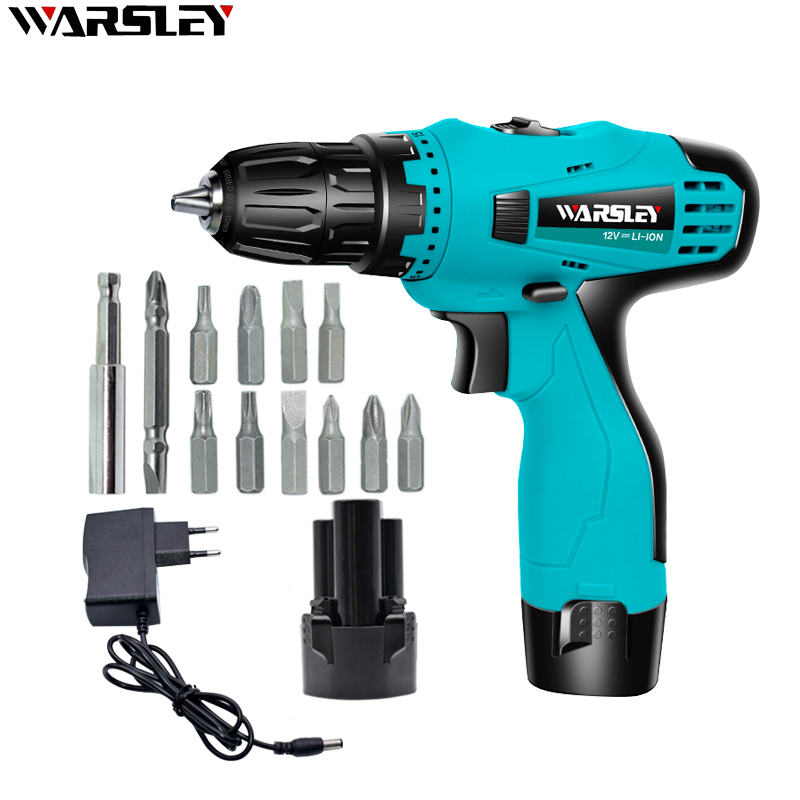 12V 21V  Cordless Electric Drill Mini Electric Screwdriver Rechargeable Lithium Battery Electric Screw Driver Power Tools