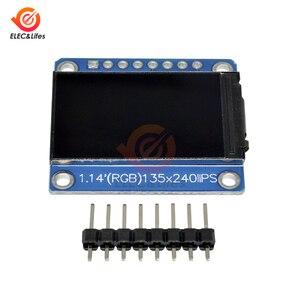 Image 2 - 1.14Inch 135X240 SPI Nối Tiếp TFT Màn Hình Hiển Thị LCD Module ST7789 Ổ IC IPS HD RGB Màn Hình LCD Full quan Điểm 8 Pin 135*240 3.3V SPI Cổng