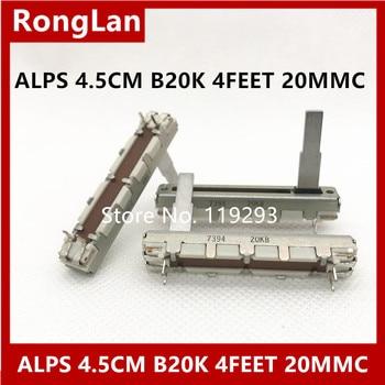 [BELLA] ALPS 4.5 CM 45MM Single tap B20K Potentiometer  recorders volume sliding potentiometer 20MMC--10PCS/LOT
