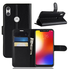 Phone Case For Motorola Moto One P30 Play Flip PU Leather Back Cover Case For Moto One Power P30 Note Coque Funda Phone Case(China)