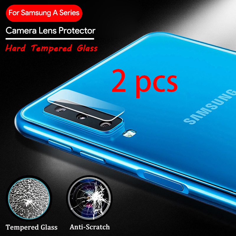 2 Pcs! Phone Lens Glass For Samsung Galaxy A50 S8 S9 A7 2018 S10 Plus A70 Camera Lens Protector For Samsung Note 9 8
