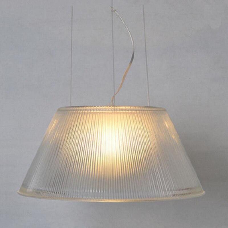 Italian Lustre Pendant Lights Stripe Glass Pendant Lamps Kitchen Lighting Fixture Decor Home Lighting Luminaria Industrial Lamp