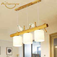 Nordic Pendant Lights Bird deco luminaria Pendente Modern Vintage Hanging Lamp Living room Kitchen retro decoration industrial