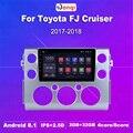2G ram 32G rom 9 дюймов Android 8 1 радио gps навигационная система для 2007-2018 Toyota FJ CRUISER