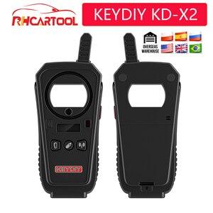 Image 2 - 2020 OBD2 키 프로그래머 도구 KEYDIY KD X2 자동차 키 차고 문 원격 kd x2 Generater/칩 리더/주파수 무료 배송