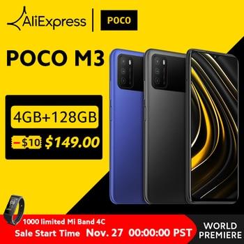 Global Version POCO M3 Smartphone Snapdragon 662 pocophone 6.53