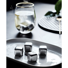 304 stainless steel ice cubes metal whiskey red wine cooling new