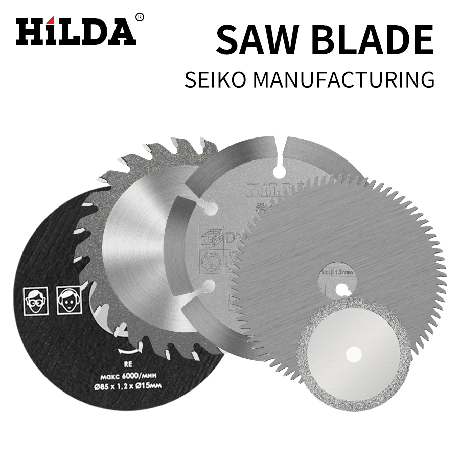 HILDA Electric Saw Blades For Power Tool Circular Saw Blade For Wood HSS Saw Blade Dremel Cutter Circular Mini Saw Blad 3 Pcs