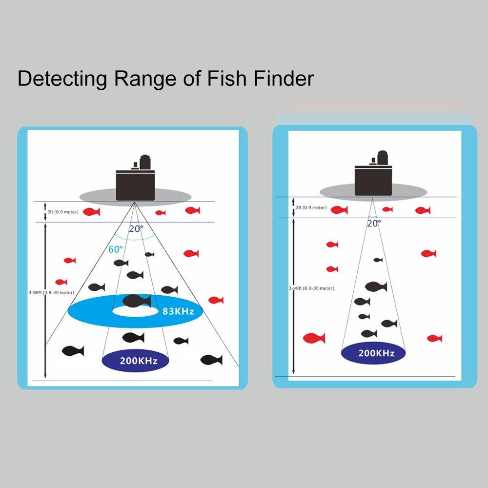 """Портативный 3,"""" TFT lcd рыболокатор, датчик для наружной рыбалки, рыболокатор, сигнализация, рыболокатор 0-80 м, глубина локатора"""