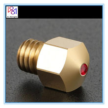 1pc 3D Printer Parts 0.4mm 1.75mm MK8 Ruby Nozzle Gemstone 3D Printing Nozzle For PETG ABS PET PEEK Nylon Filament