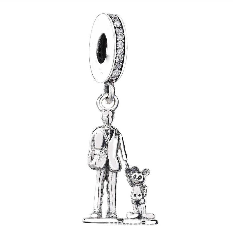 2 Teile/los Nette Baum Männer Hedgehog Mermaid Charme Anhänger fit Marke Armbänder Halsketten für Frauen Schmuck Machen Zubehör Geschenk