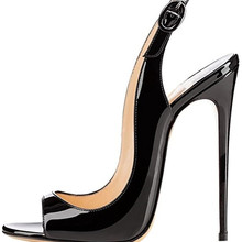 Womens Ladies 12CM High Heels Smart Round Toe Court Shoes Po