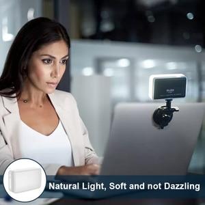 Image 2 - Ulanzi VIJIM VL120 LED lumière vidéo photographie Studio lumière sur caméra lumière vidéo conférence lumière diffuseur doux RGB lumière de remplissage
