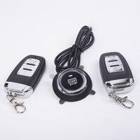 Auto Alarm System Sicherheit Keyless Entry Push Button Remote Control Engine Start-in Anfangs-Teile aus Kraftfahrzeuge und Motorräder bei