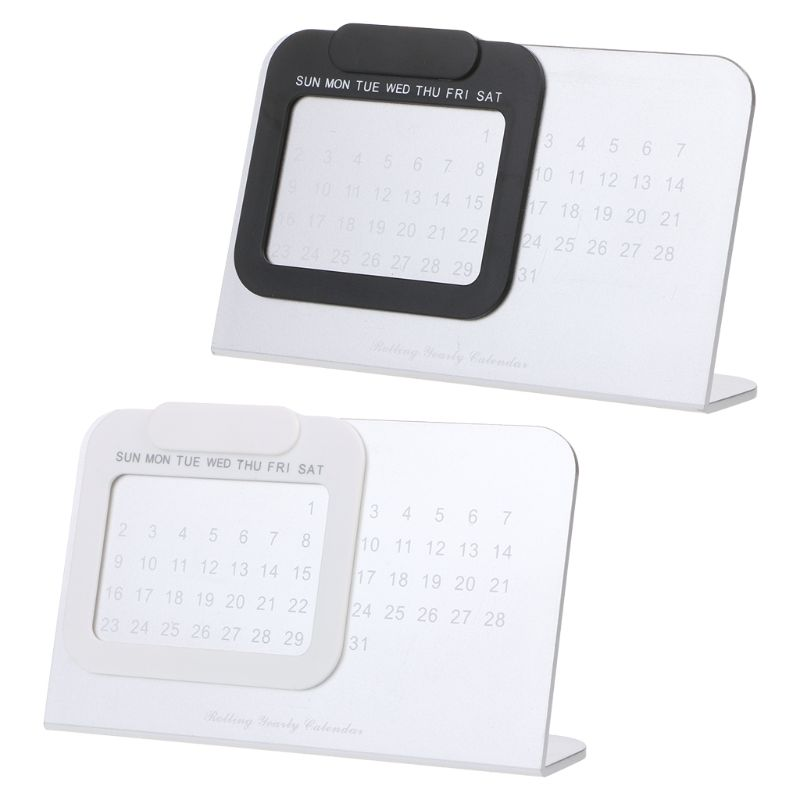 Super Perpetual Unique Adjustable Desktop Calendar Office Supplies Home Decor