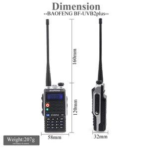Image 4 - Baofeng UVB2 Plus UV B2 Two way Radio Dual Band VHF/UHF Walkie Talkie 128CH interphone BF UVB2 Ham CB Radio Handheld Transceiver