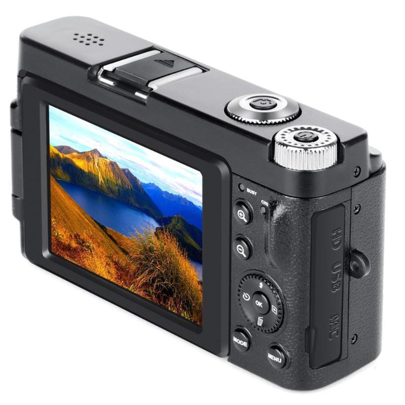 P11 цифровая камера с откидным экраном, беспроводная, Wi Fi, Full HD 1080 P, 24MP, 16X зум, цифровая камера, видео рекордер, высокое качество - 4