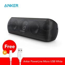 Altavoz Anker Soundcore Motion + Bluetooth con Audio hi-res 30W, graves extendidos y agudos, altavoz portátil HiFi inalámbrico