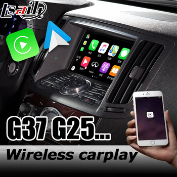 Carplay interface box for Infiniti G37 / Q40 2009-2016 with Q70 QX50 QX60 QX70 QX80 Skyline Android auto youtube play image