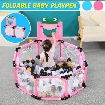 Foldable Portable Baby Playpen Square Children Toddler Kids Safety Fence?Indoor Outdoor Play Pen?Ocean?Portable Ball Pit Pool baby big size cartoon playpen fence kid crawling toy house safety portable ocean ball pit pool play tent children fencing teepee