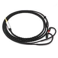 3.5/4.4/2.5 type c cable Lightning balanced headphone upgrade line for iron triangle im50im70im01im02im03im04 T1119
