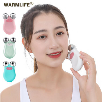 Mini Microcurrent Face Lift Machine Tightening Rejuvenation Facial Wrinkle Remover Device Face Lift Spa USB Charging