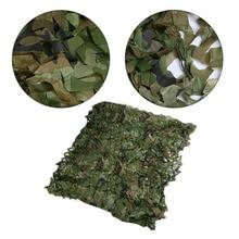 Маскировочная сетка, армейская Военная камуфляжная сетка, покрытие для автомобиля, палатка, охотничьи жалюзи, сетка, дополнительный размер, длинная крышка