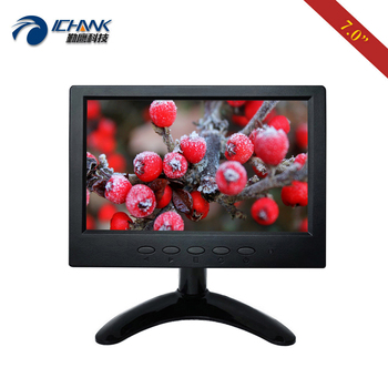 "B070JN-ABHUV/7"" inch 1024x600 720p IPS Widescreen Built-in Speaker HDMI Monitor Portable Mini Raspberry Pi 34 PC Monitor Display"