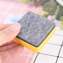 2шт% 2Fset магнитная доска ластики сушка стирание маркер белая доска очиститель школа офис принадлежности