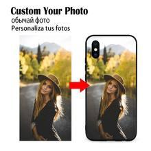 Foto Diy Telefoon Case Zachte Siliconen Tpu Aangepaste Foto Voor Redmi 9A 8A 7 6 6A Note 9 8 8T Pro Max Redmi 9 K20 K30 Pro
